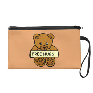 Free Hugs Teddy accessory bags