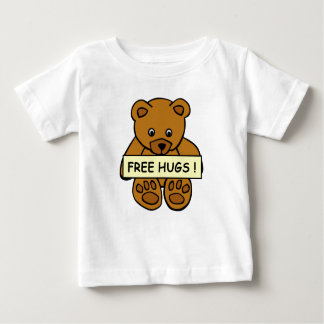 Free Hugs Teddy baby clothing Baby T-Shirt