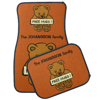 Free Hugs Teddy custom car floor mats Car Mat