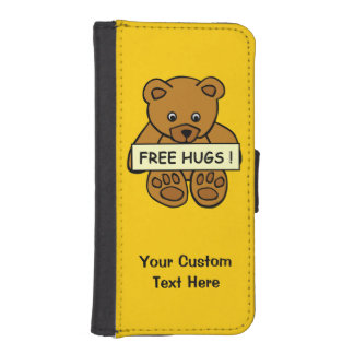 Free Hugs Teddy custom cases