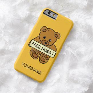 Free Hugs Teddy custom text & color cases