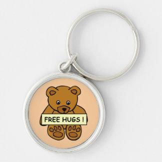 Free Hugs Teddy key chains