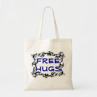 Free Hugs Tote Canvas Bag