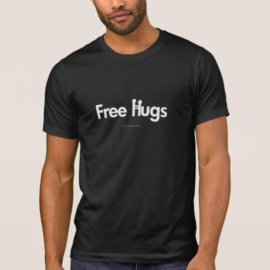 FREE HUGS Tshirt  (Dark colours)
