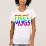 FREE HUGS Women's Rainbow Tank Top