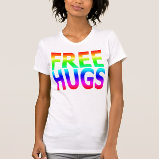 FREE HUGS Women's Rainbow Tank Top