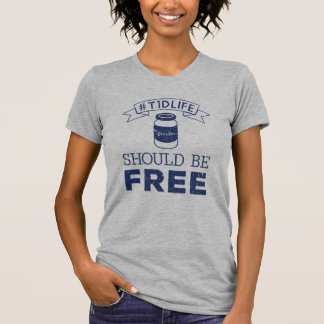 Free Insulin (Navy) T-Shirt