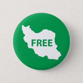 Free Iran 6 Cm Round Badge