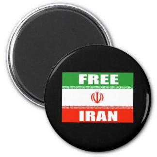 FREE IRAN Flag Magnet