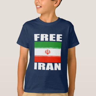 Free Iran T-shirt white