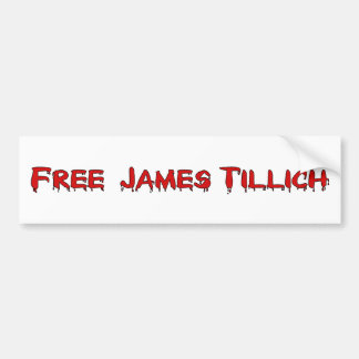 Free James Tillich Bumper Sticker