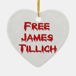 Free James Tillich Ceramic Heart Decoration