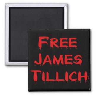 Free James Tillich Square Magnet