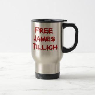 Free James Tillich Stainless Steel Travel Mug
