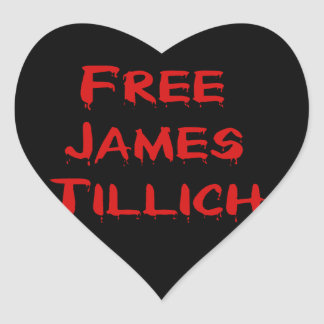 Free James Tillich Heart Sticker