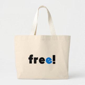 free jumbo tote bag