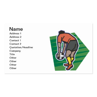 Free Kick Business Cards