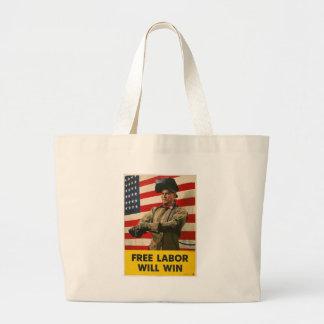 Free Labor World War II Tote Bag