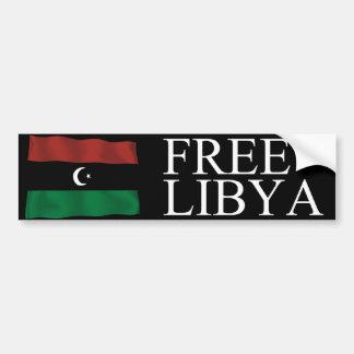 Free Libya Bumper Stickers