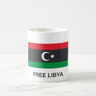 Free Libya flag Mug