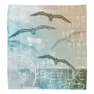 Free like a bird bandana