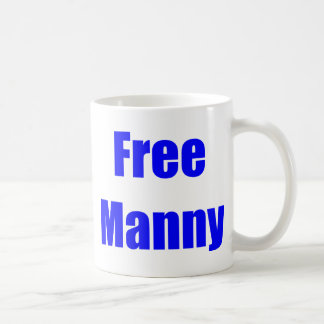 Free Manny Basic White Mug