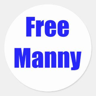 Free Manny Sticker