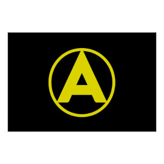 Free Market Anarchy Poster