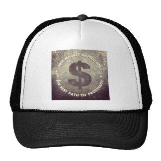 Free Market Capitalism Trucker Hat