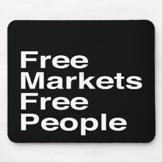 Free Markets Free People Mouse Pads