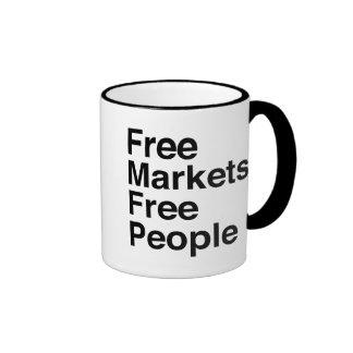 Free Markets Free People Mugs