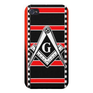 Free Mason Master Mason iPhone 4 Case