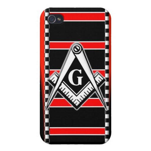Free Mason (Master Mason) iPhone 4 Case