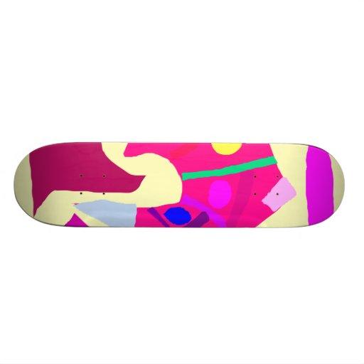 Free Moving Humble Wealth Mental Stability Skate Board Decks
