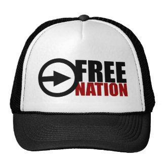 FREE NATION SNAPBACK HATS