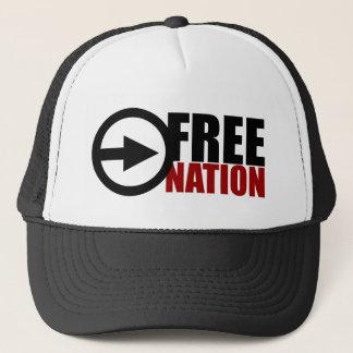 FREE NATION SNAPBACK TRUCKER HAT