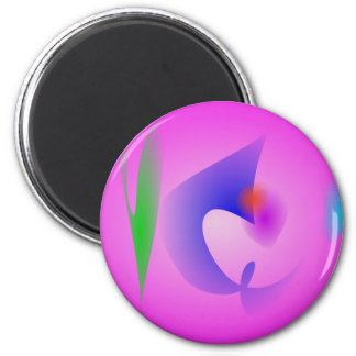Free Objects Pink Magnet