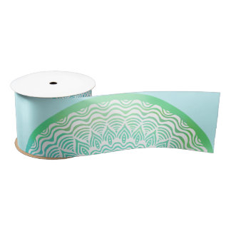Free Ocean Ribbon | Mandala Craft Ribbon Satin Ribbon