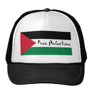 Free Palestine - فلسطين علم  - Palestinian Flag Cap