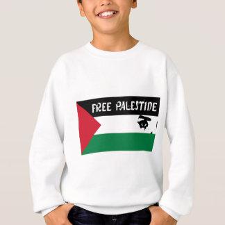 Free Palestine - فلسطين علم  - Palestinian Flag Sweatshirt