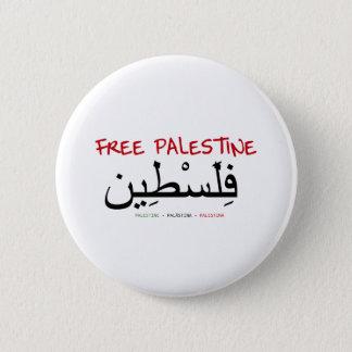 Free Palestine 6 Cm Round Badge