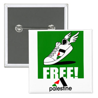 Free! Palestine 15 Cm Square Badge
