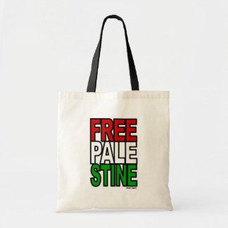 Free Palestine Block Budget Tote Bag