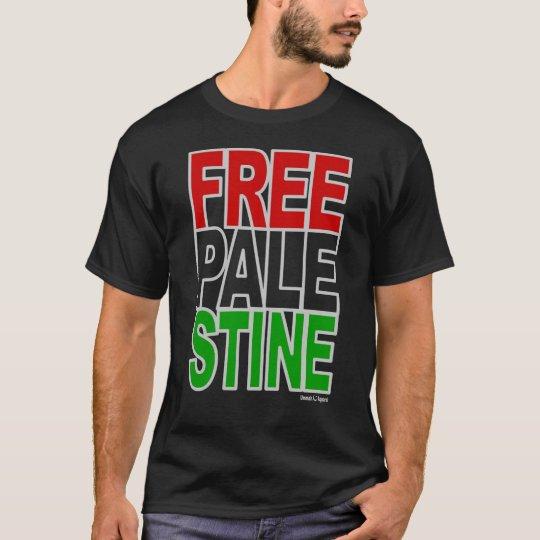 Free Palestine Block T-Shirt