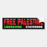 FREE PALESTINE bumpersticker