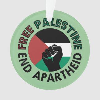 Free Palestine End Apartheid Palestine Flag