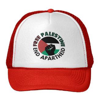 Free Palestine End Apartheid Palestine Flag Hats