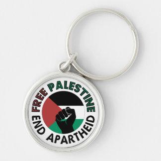 Free Palestine End Apartheid Palestine Flag Keychains