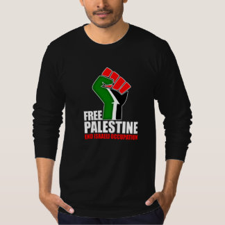 Free Palestine end Israeli Occupation, T-Shirt