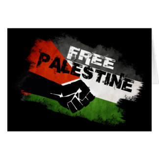 Free Palestine - From River to Sea Cards